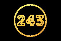 243 líneas de pago