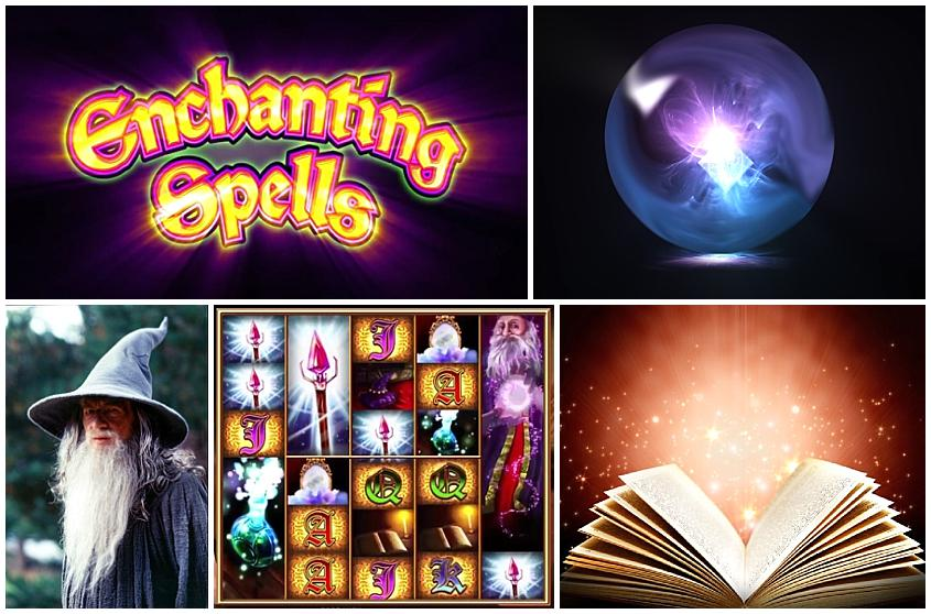 Enchanting Spells Demo Slot Machine