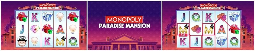 Monopoly Paradise Mansion