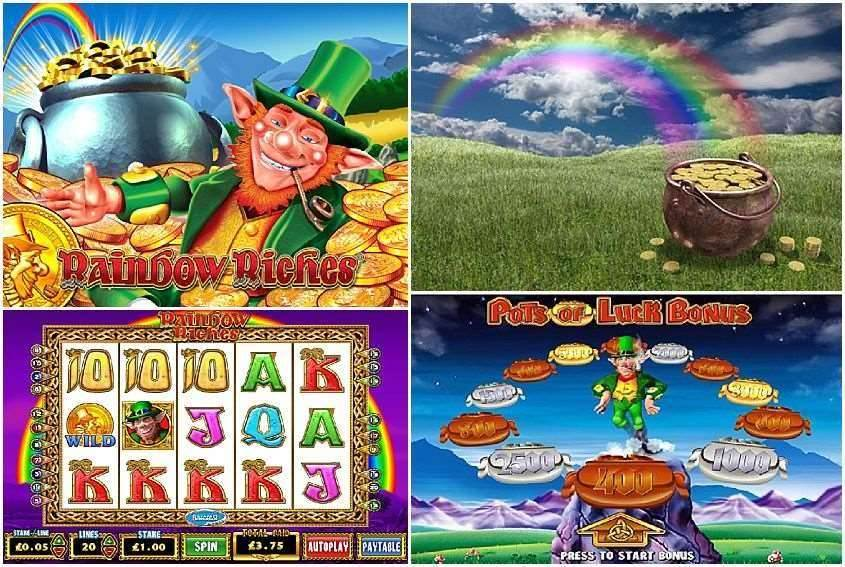 Rainbow Riches Free Spins Slots - Play for Free Online