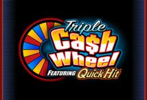Triple Cash Wheel Featuring Quick Hit
