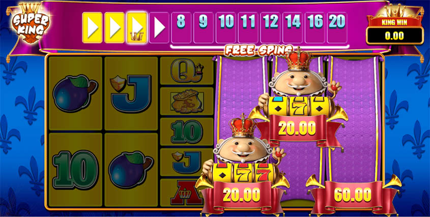 Reel King Megaways Mini Slot Bonus