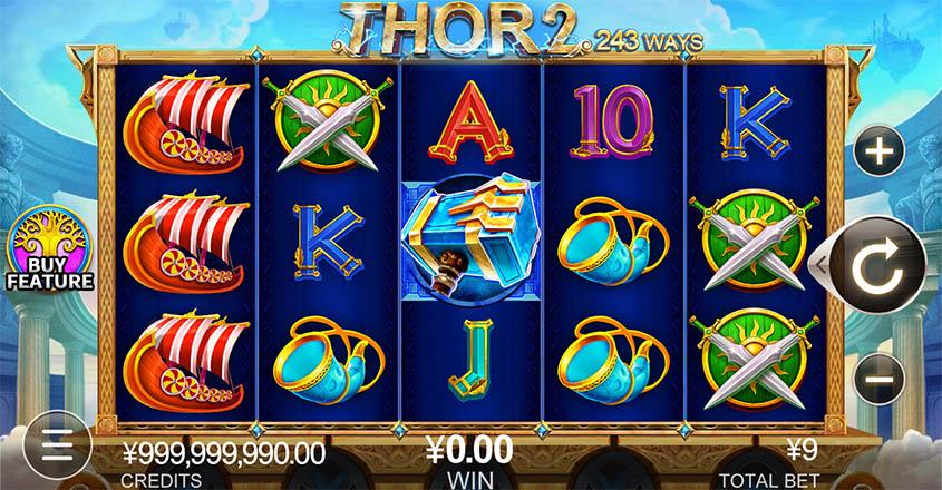 Thor 2 เกมสล็อตออนไลน์
