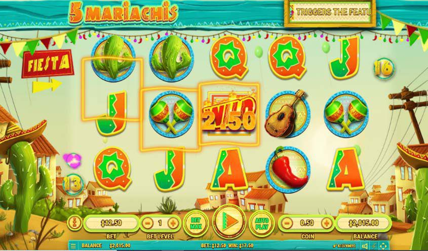 5 Slot Mariachis