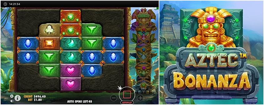 Aztec Bonanza Slot - Free Play in Demo Mode - Jun 2021