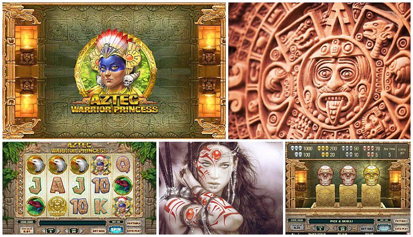 New Slot Aztec Warrior Princess Released By PlayN Go