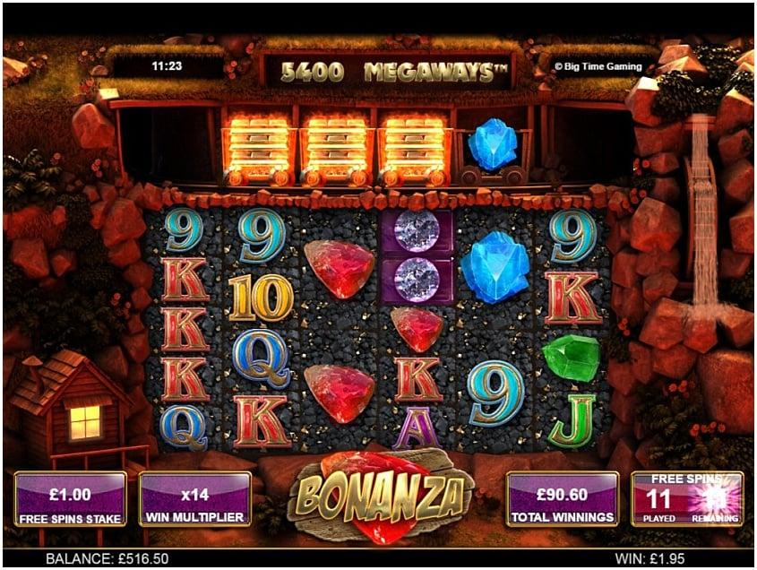 Slot bonanza free games