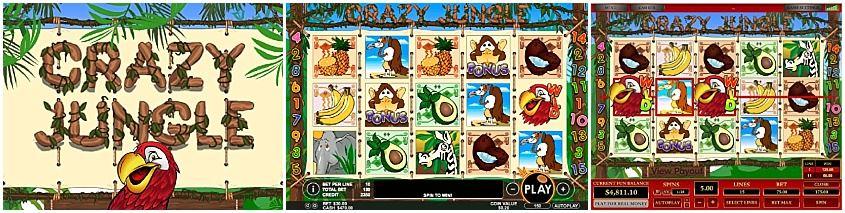 Crazy Jungle Slot - Free Play and Bonus Codes - May 2019