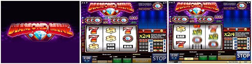 Play free diamond deluxe slots
