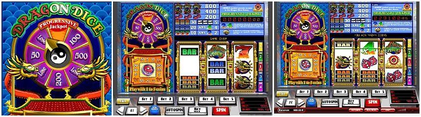 Dragon dice slot machine corning casino rv park