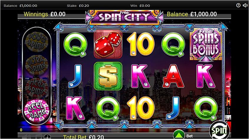 Free Spin City Slot - Free Play and Bonus Codes - Aug 2019