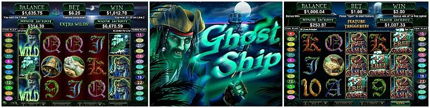Ghost Ship Slot - Free Play and Bonus Codes - Aug 2019