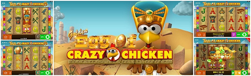 Spiele Golden Egg Of Crazy Chicken - Video Slots Online