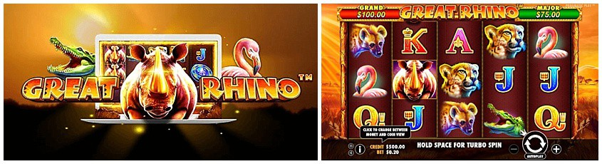 Great Rhino Slot Free Play In Demo Mode Aug 2020