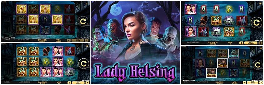 Lady Helsing Slot - Free Play and Bonus Codes - Jun 2019
