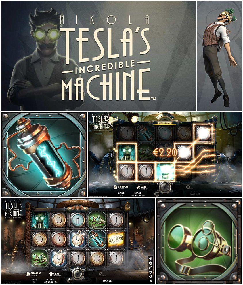 รีวิวเกม Nikola Tesla's Incredible Machine