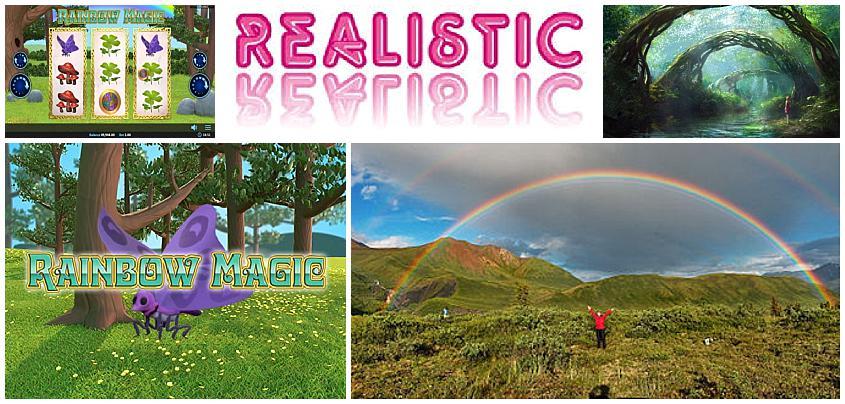 Realistic Games Casino Releases New Rainbow Magic Slot
