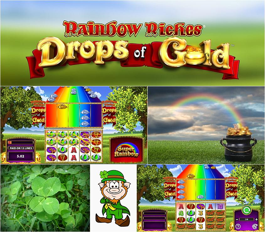 Spiele Rainbow Riches Drops Of Gold - Video Slots Online