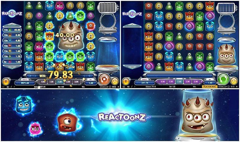 Reactoonz Free Play