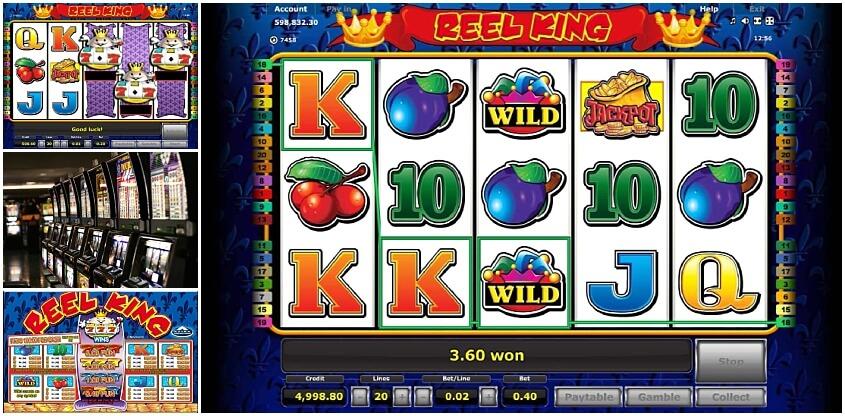 Reel King Slot Winning Combination