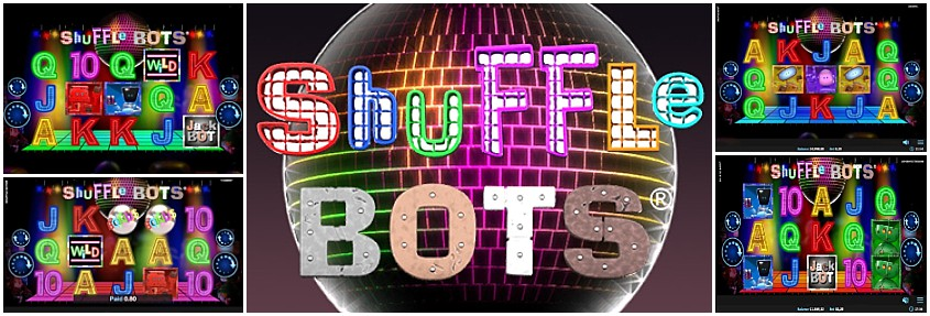 Shuffle Bots Slot Machine