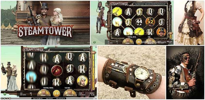 Steam Tower Slot
