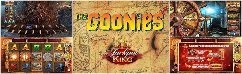 The Goonies Jackpot King Slot Free Play In Demo Mode Aug 2020