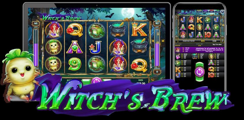 Witchs Brew Slot - Free Play in Demo Mode - Jul 2021