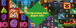 All Upcoming Slots for August 2021