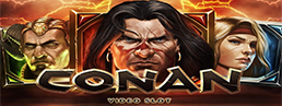 First Look at Conan Slots from NetEnt