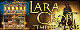 Lara Croft Temple and Tombs Slot Now Live