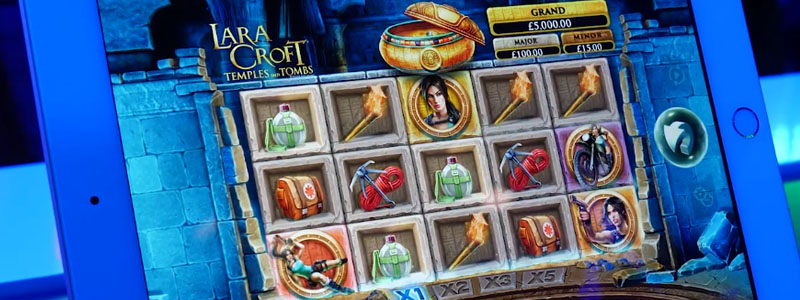 Lara Croft: Temples and Tombs, New from Microgaming