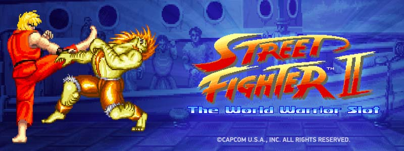 NetEnt Launches Street Fighter II Slot