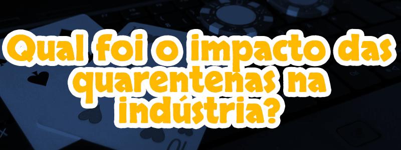 O impacto das quarentenas na indústria de jogos online