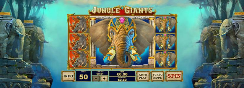 Playtech to Release New Jungle Giants Slot