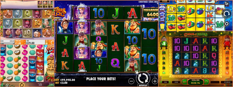 The Best NEW Christmas Slots of 2020!